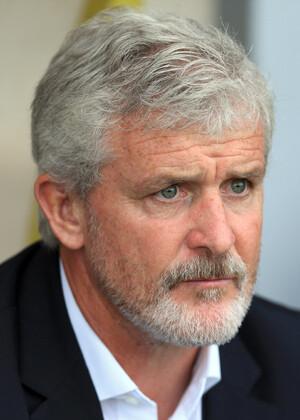 Mark Hughes, entrenador del Stoke City