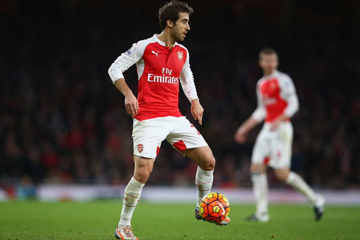 Mathieu Flamini, del Crystal Palace