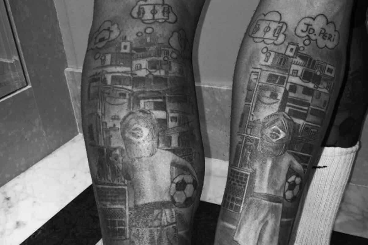El tatuaje en común de Neymar y Gabriel Jesús