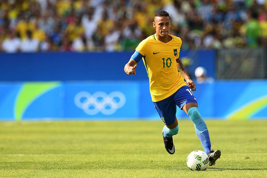 Neymar contra Honduras en el Maracaná