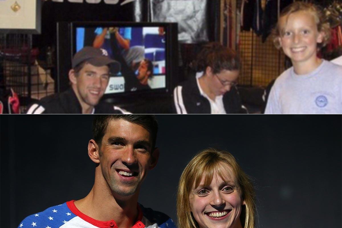 Michael Phelps y Katie Ledecky