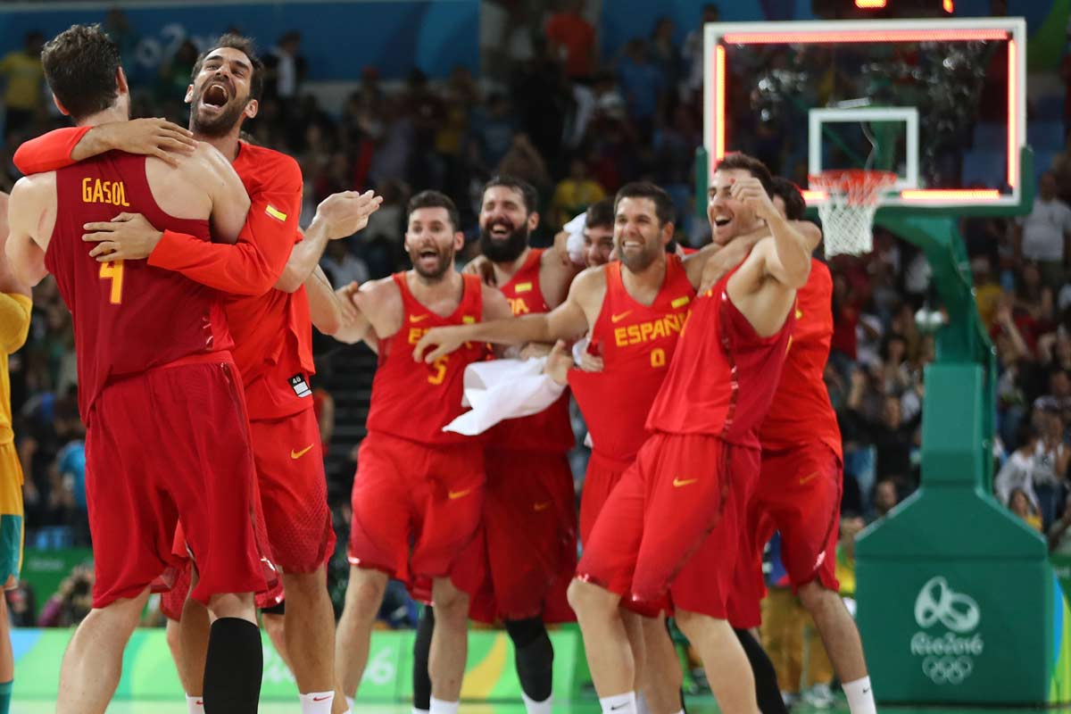 Seleccion española de baloncesto