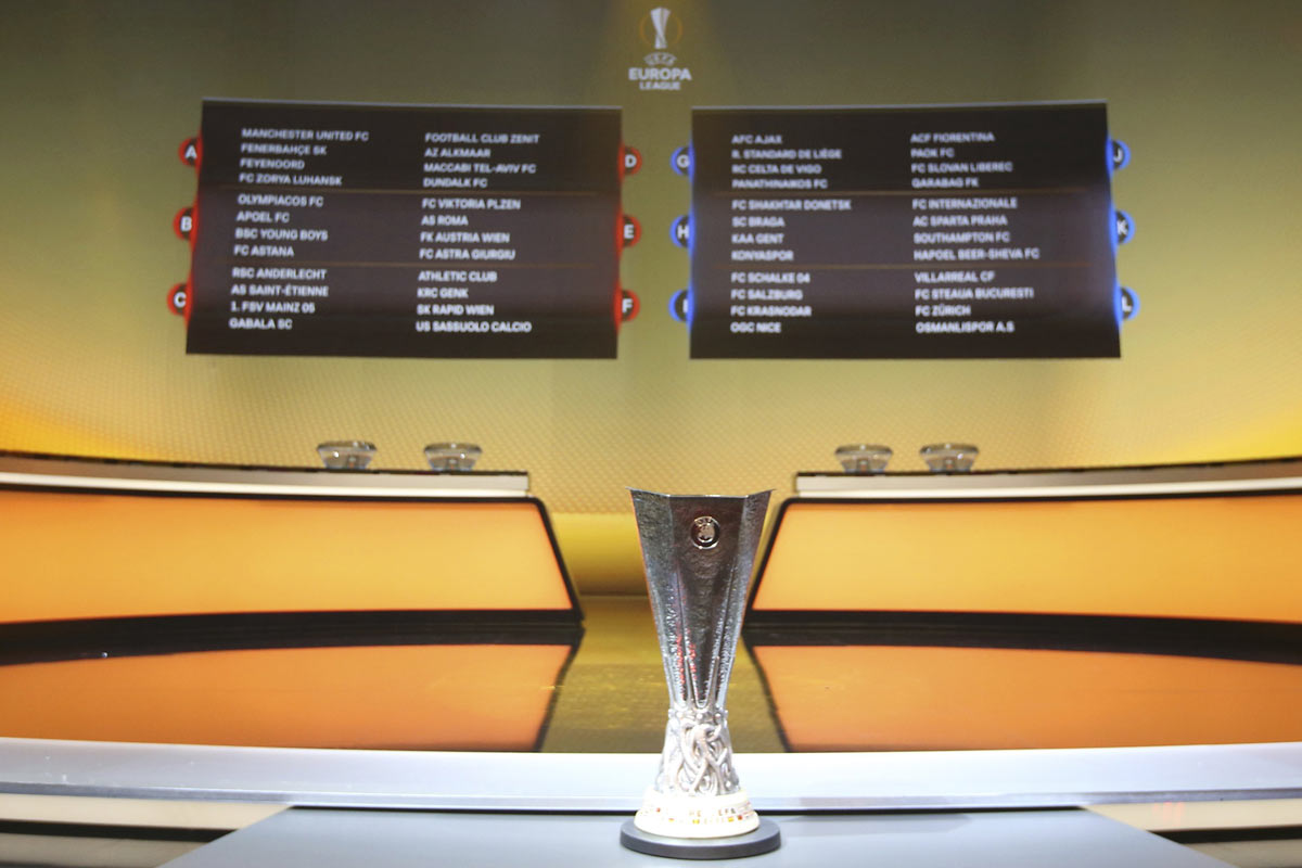 Sorteo de Europa League, con Celta, Villarreal y Athletic