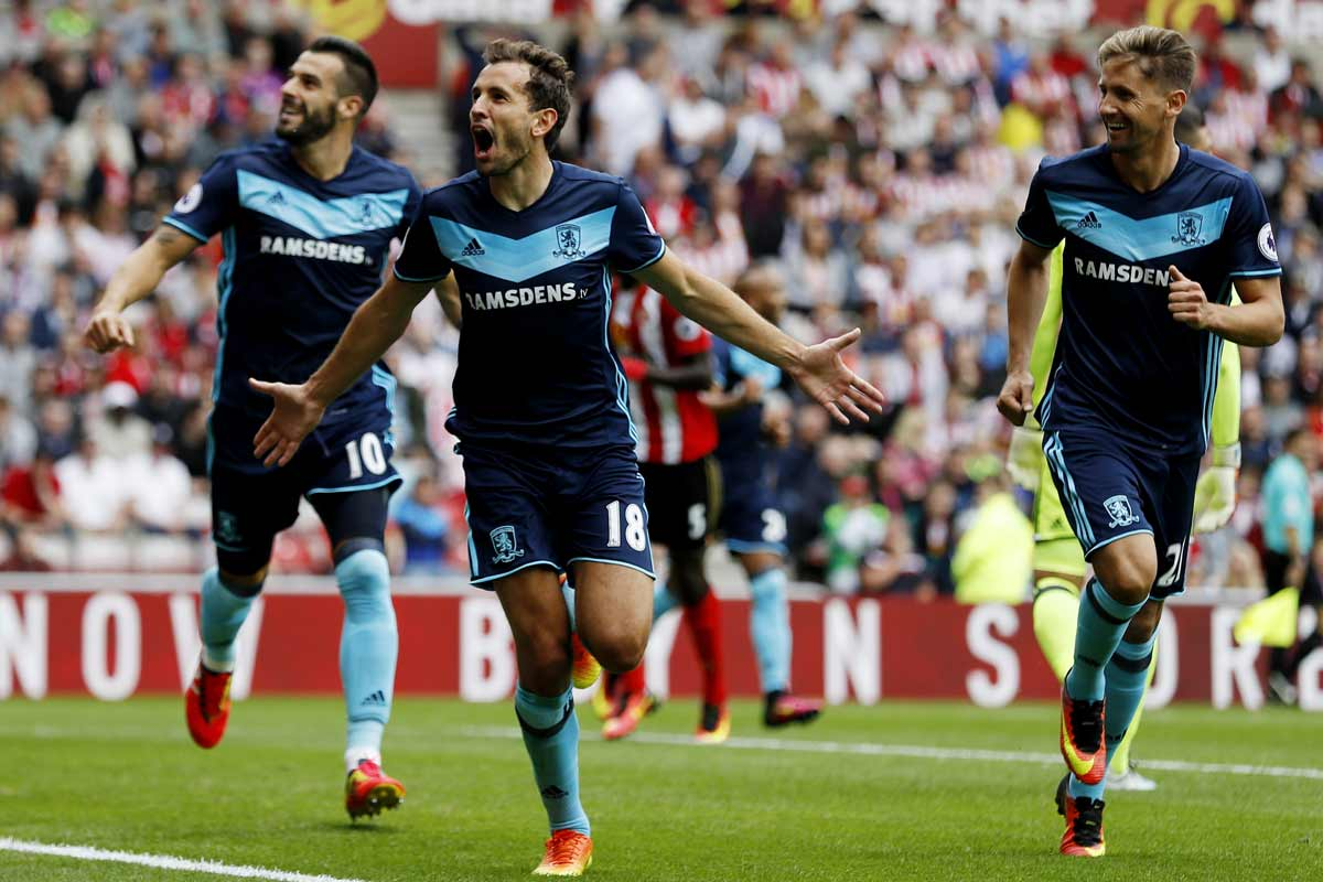 Christian Stuani, del Middlesbrough