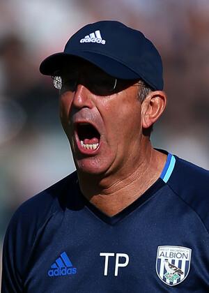 Tony Pulis, técnico del West Bromwich Albion