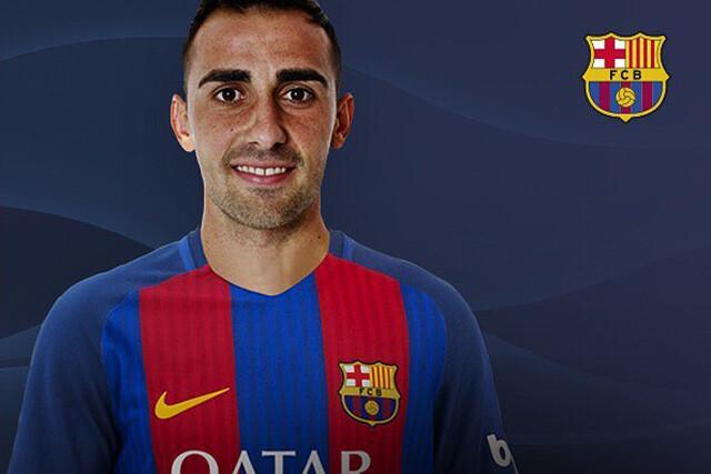 Paco Alcácer, nuevo jugador del Barcelona