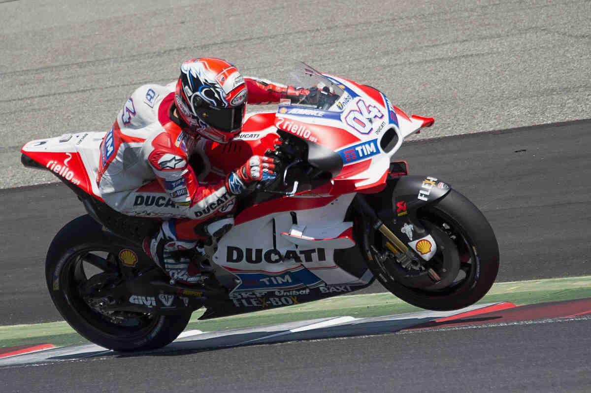 ducati domina de principio a fin los FP2 de MotoGP