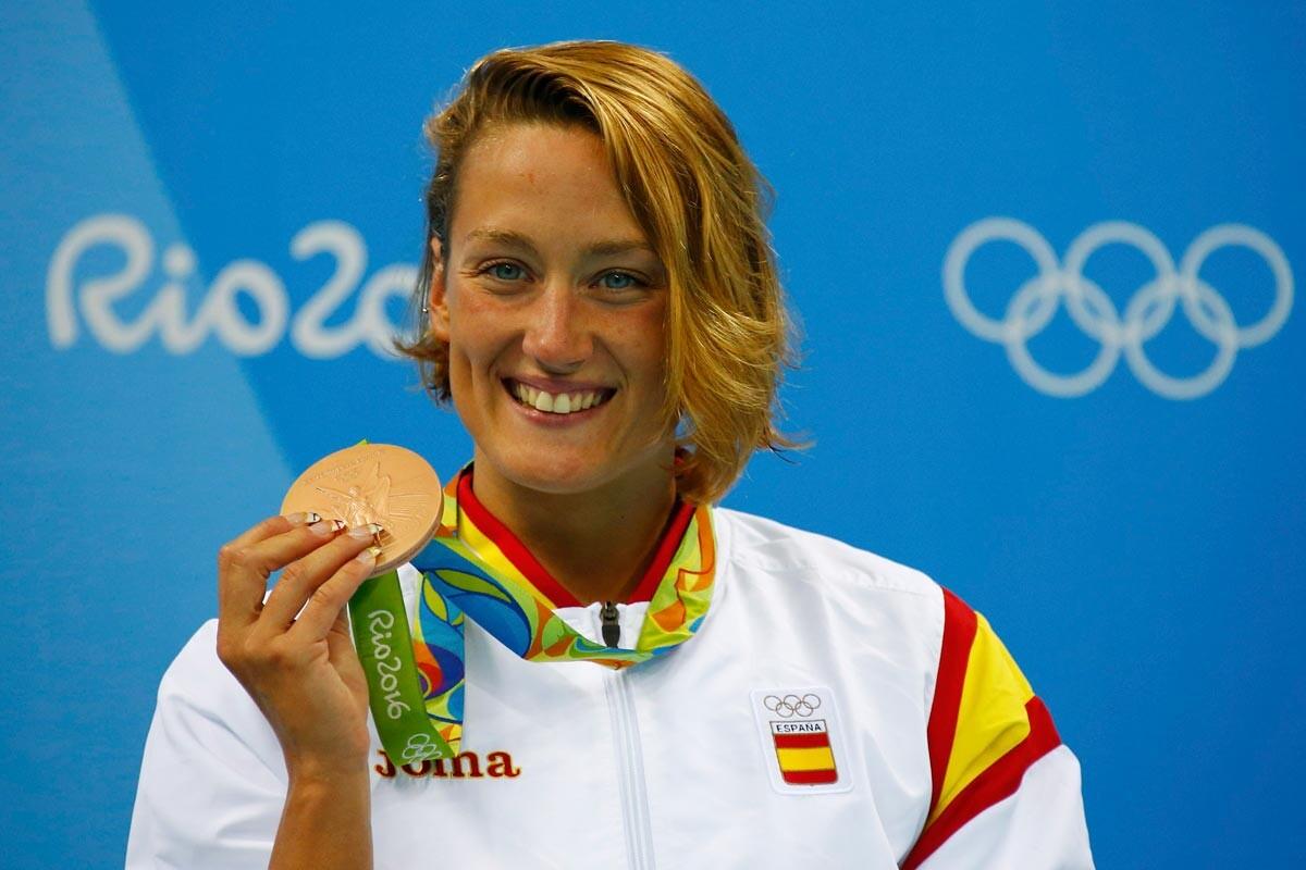 Mireia Belmonte gana el bronce en 400 estilos