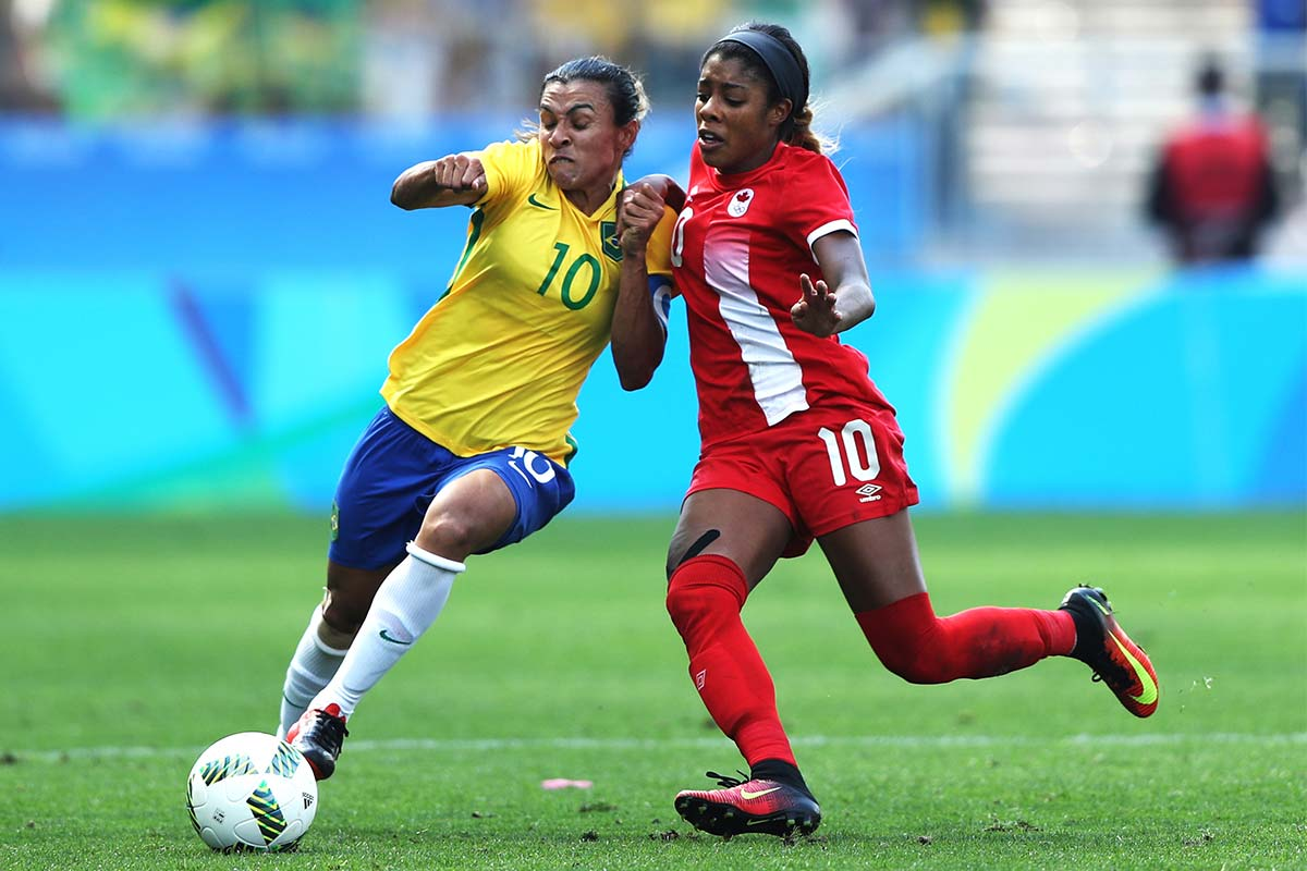 brasil canada futbol