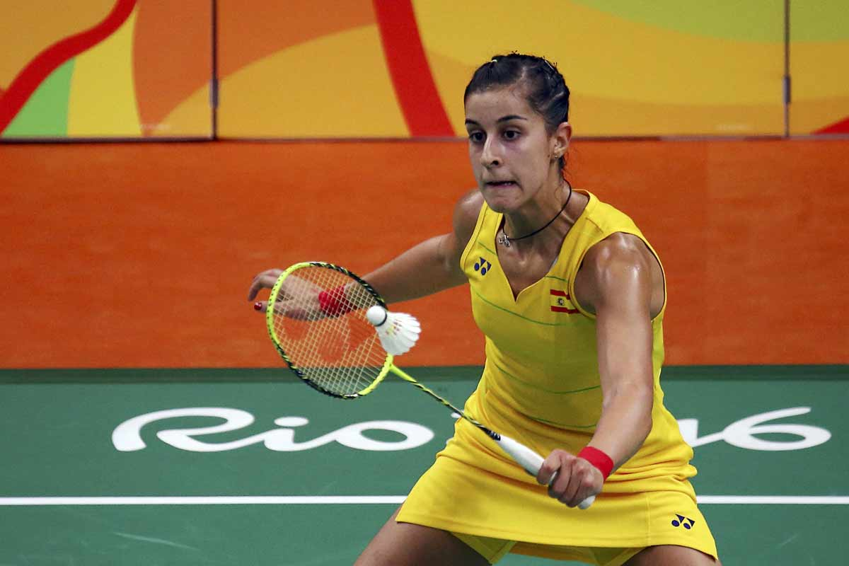 Carolina Marín, en los Juegos