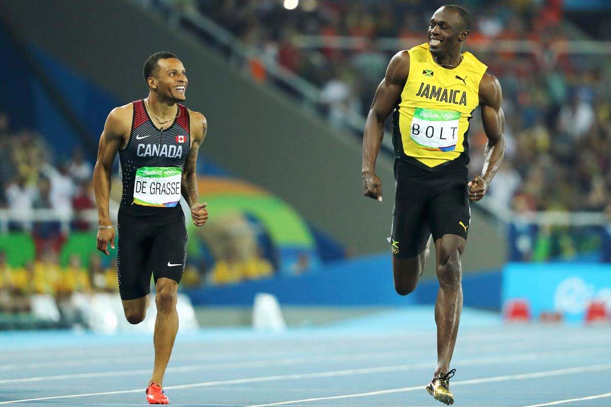 De Grasse y Bolt