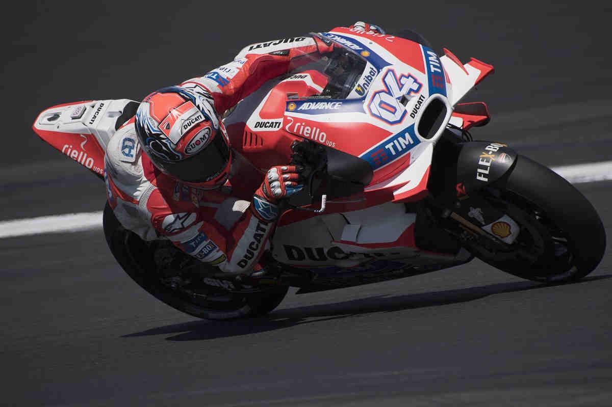 Ducati, molesta por la prohibición de las alas