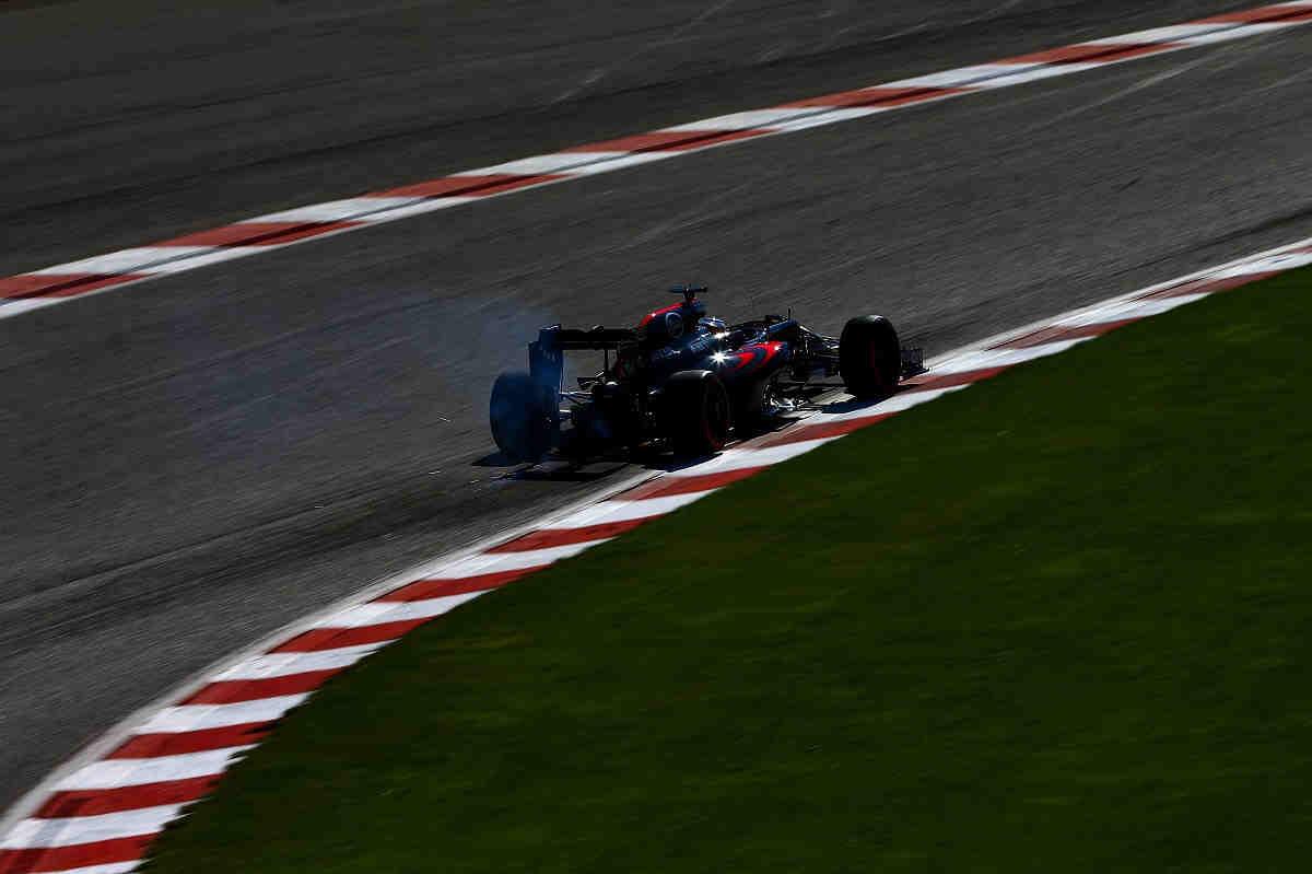 Alonso se queda parado en la sesión de calificación del GP de Bélgica