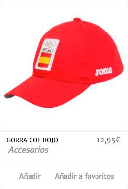 Gorra Roja COE