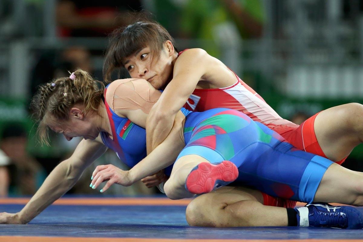 Kaori Icho, campeona olímpica de lucha libre