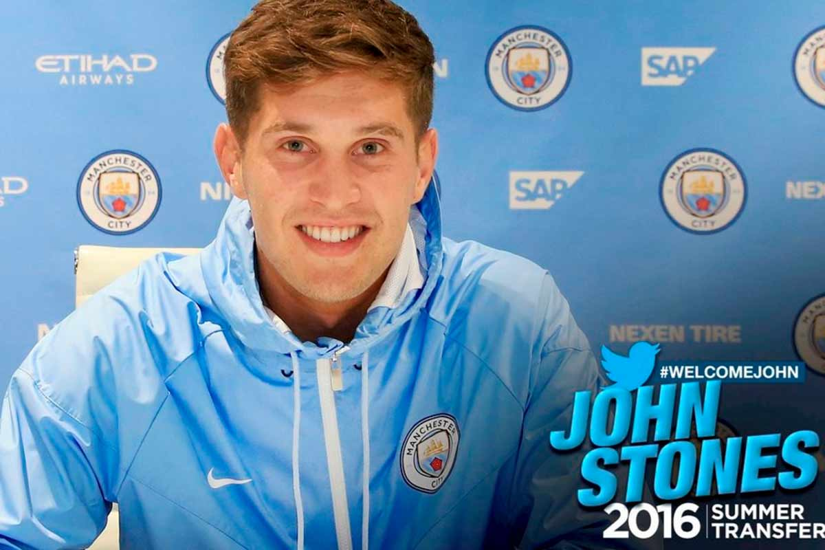 John Stones, del Manchester City