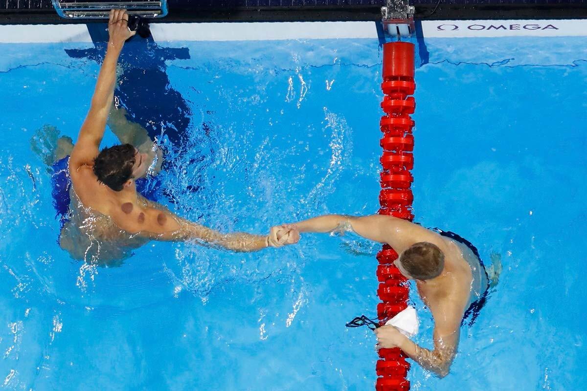 Kenderesi y Phelps en la semifinal de 200 mariposa