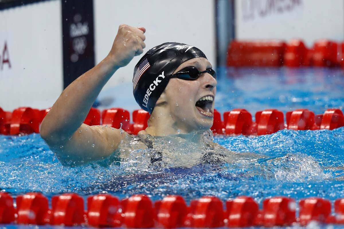 Katie Ledecky conquista el oro en 200