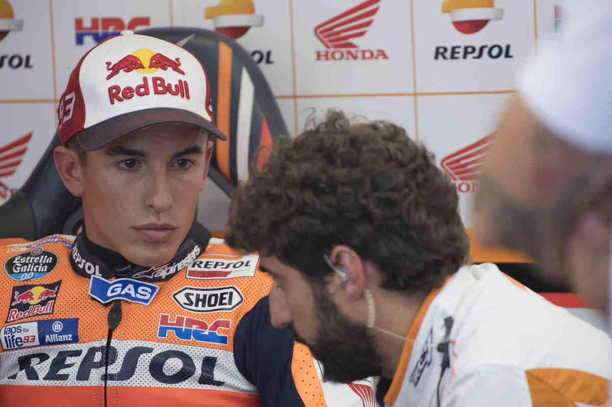Márquez, cauto tras ser el más rápido del viernes en MotoGP