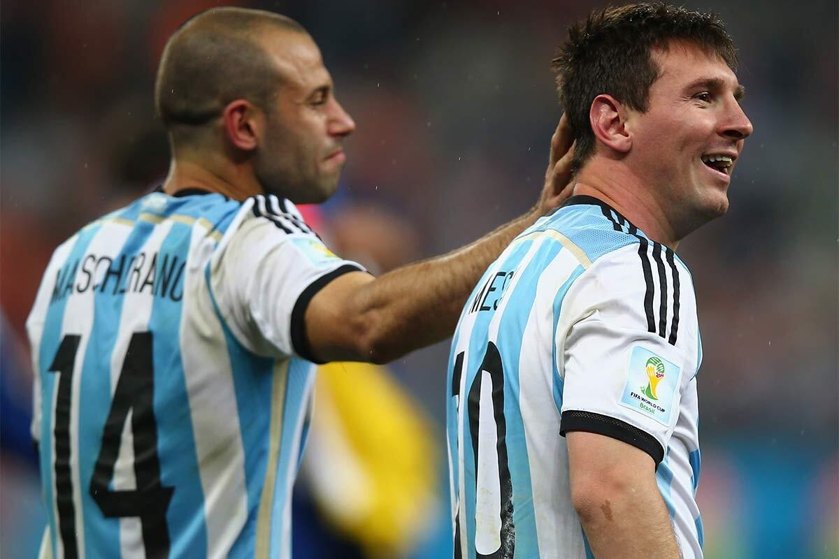 Mascherano Messi