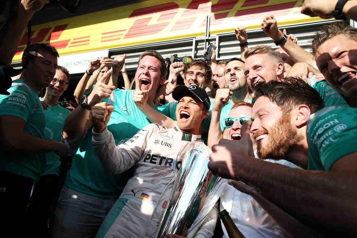 Rosberg no se dio cuenta de la remontada de Hamilton