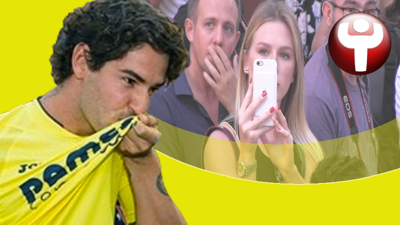 Fiorella Mattheis Alexandre Pato presentación Villarreal CF