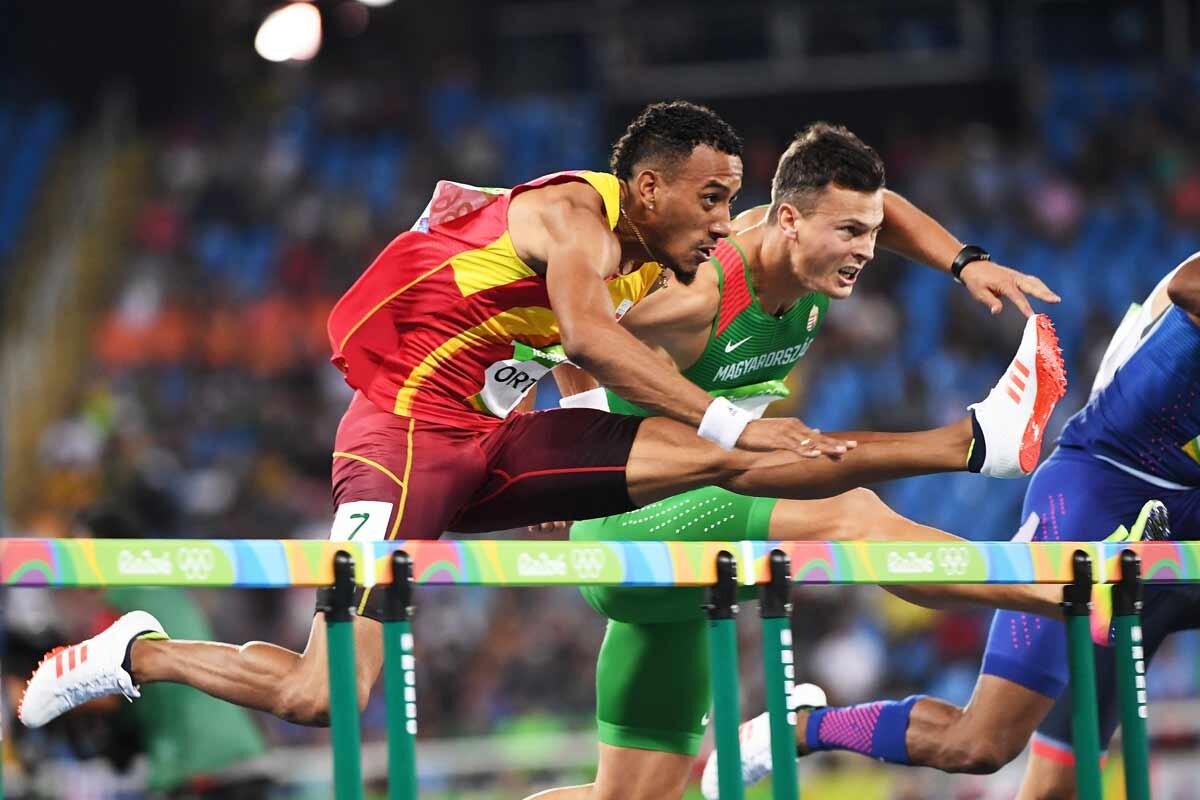 Orlando Ortega consigue la medalla de oro en vallas