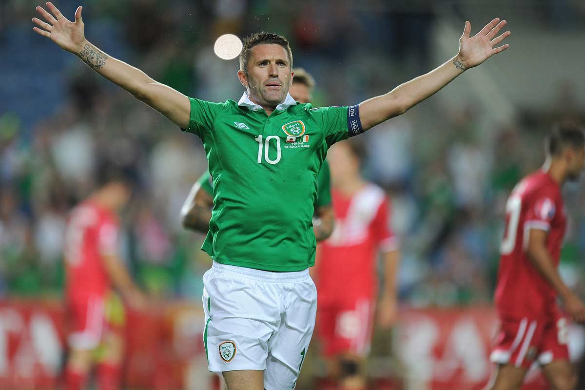 Robbie Keane fue operado dela rodilal