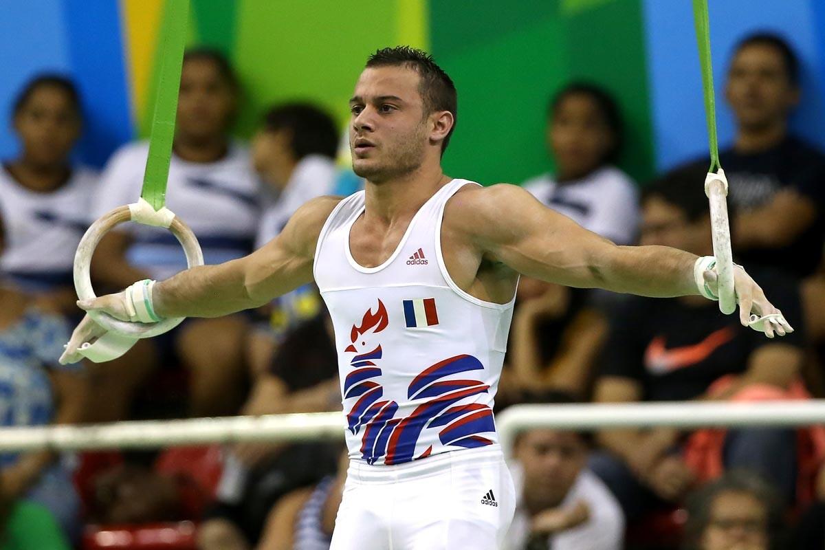 Samir Ait, gimnasta francés
