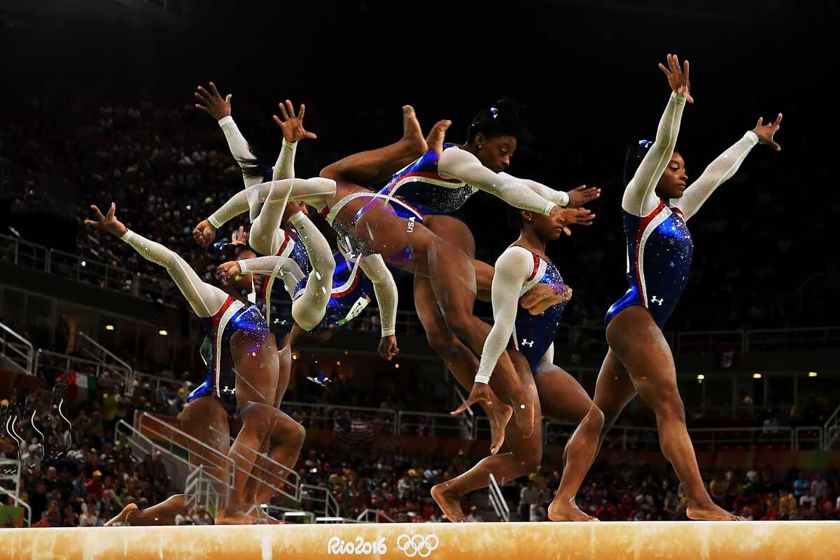 Simone Biles medalla de oro en gimnasia
