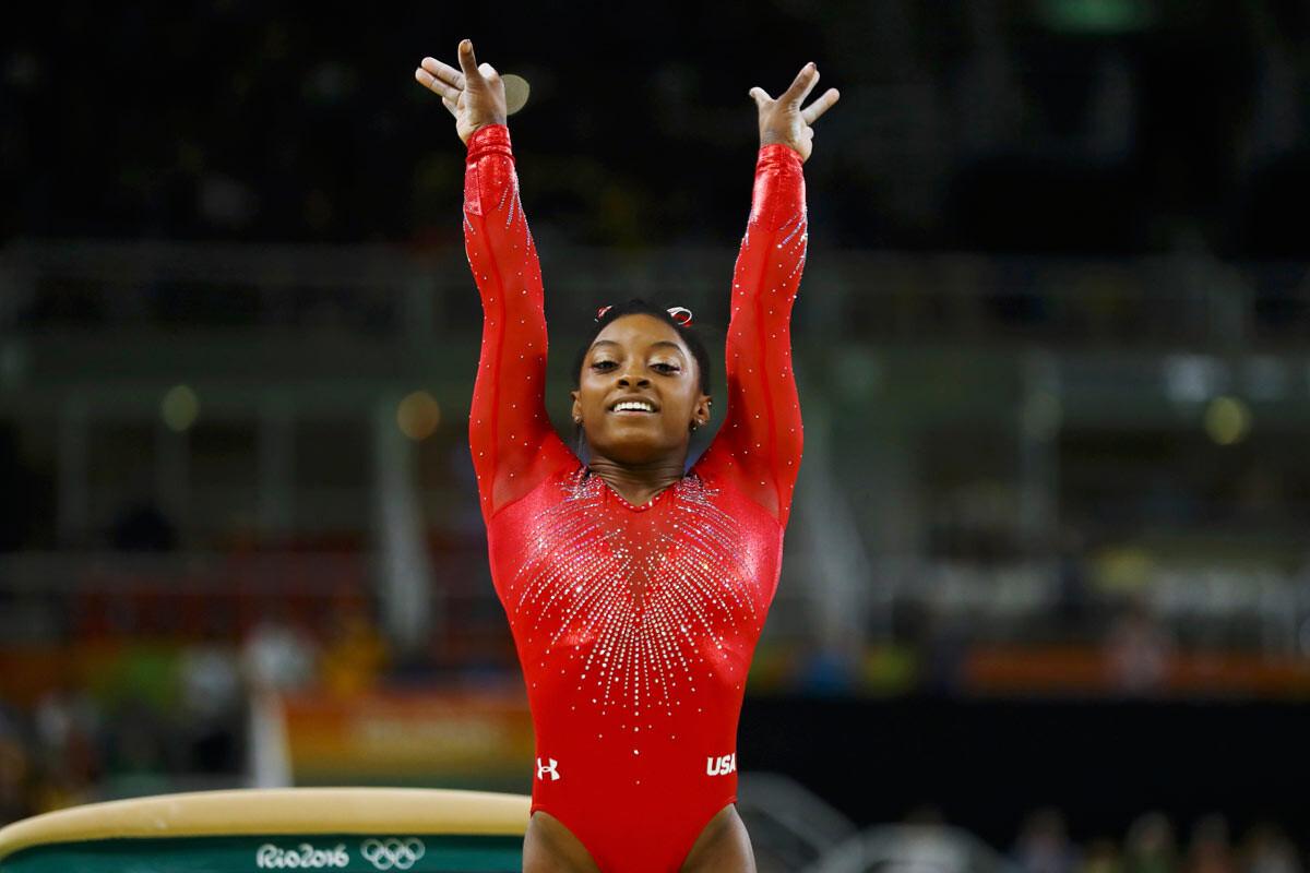 Simone Biles gana su tercer oro