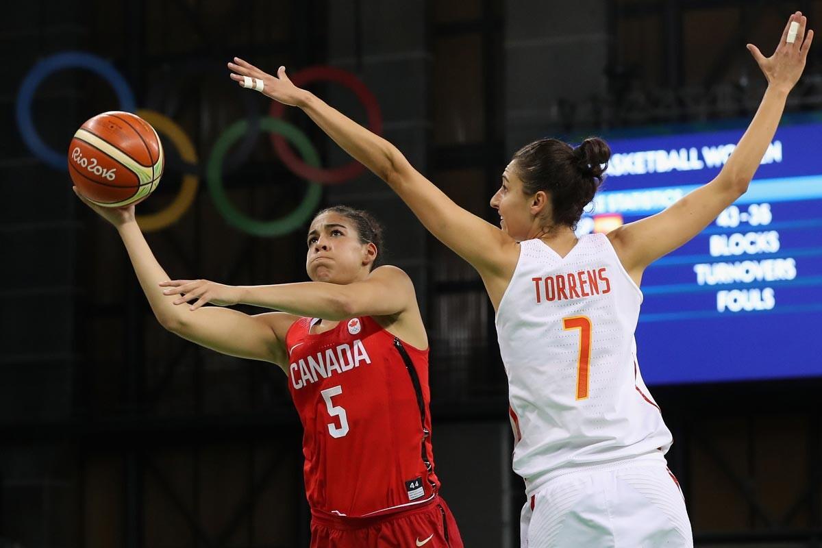 España-Canadá de baloncesto