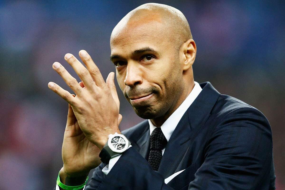 Thierry Henry, segundo entrenador de Bélgica