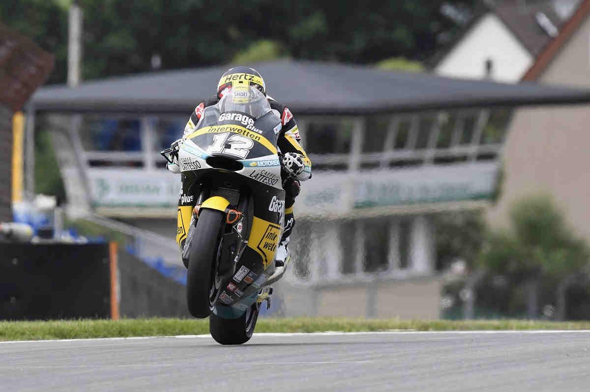 Luthi marca la pauta en los segundos libres de Moto2