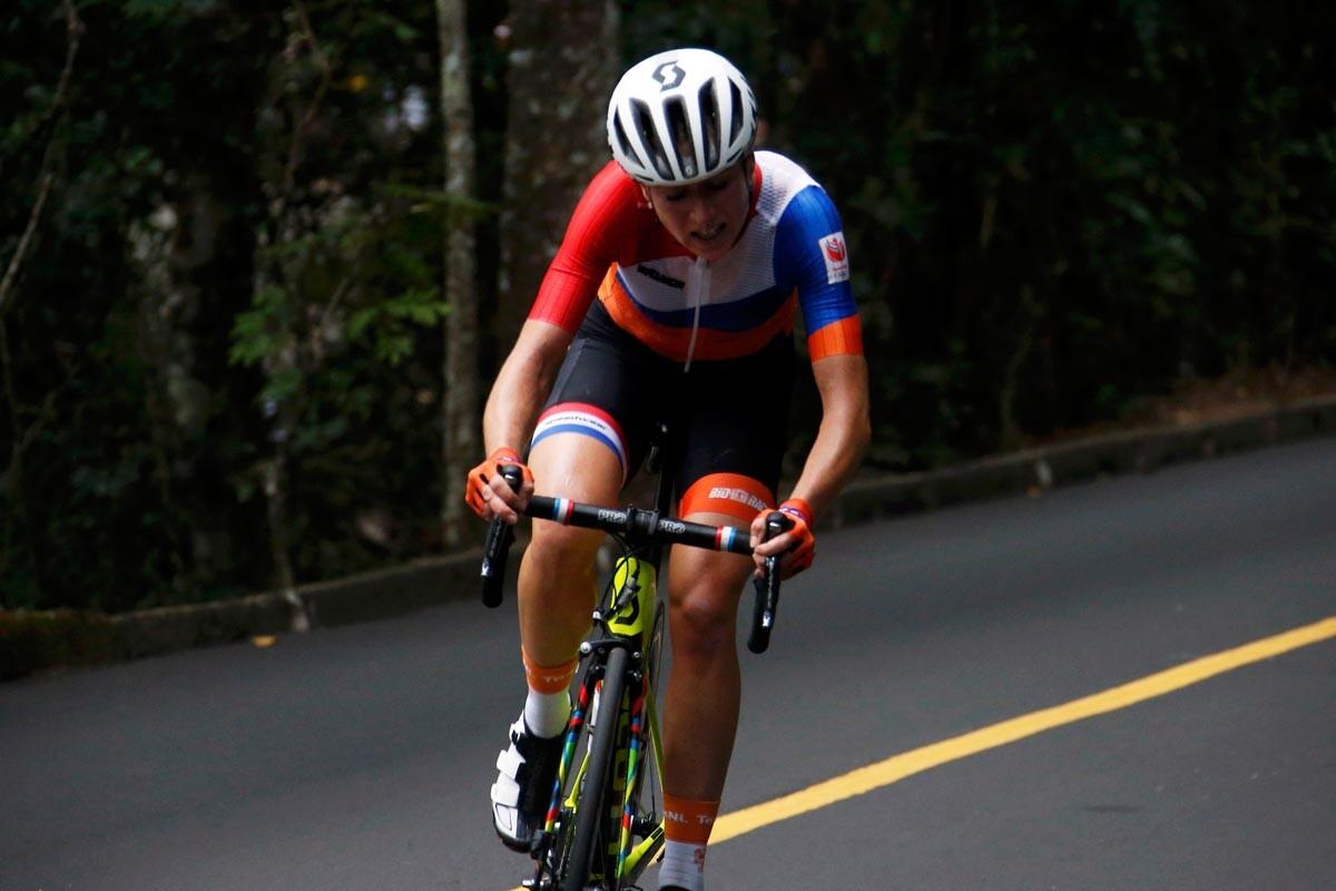 Van Vleuten, ciclista olímpica