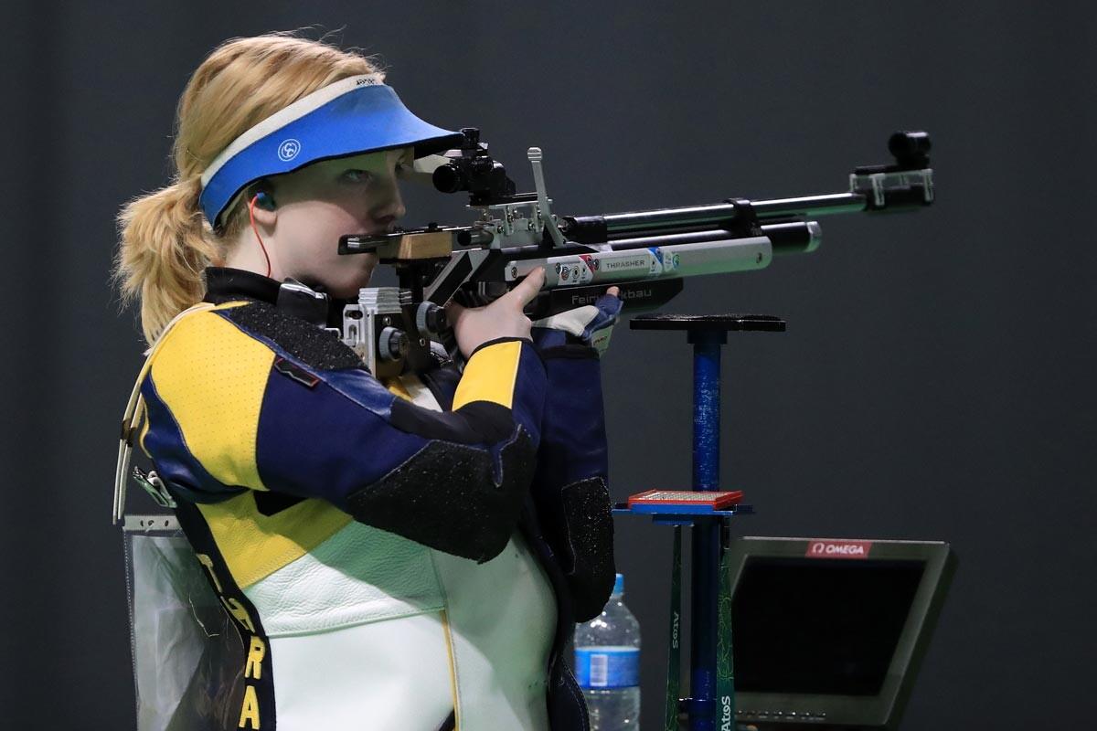 Virginia Thrasher, campeona olímpica de tiro