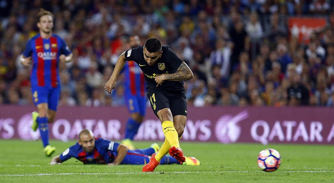 Correa marcó el gol del empate ante el Barcelona