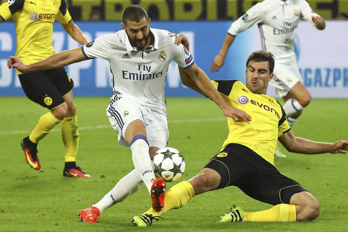 Borussia-Real Madrid