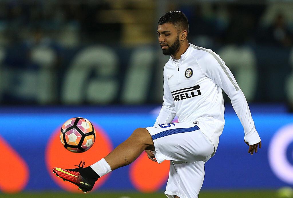 Gabriel Barbosa con el Inter de Milán