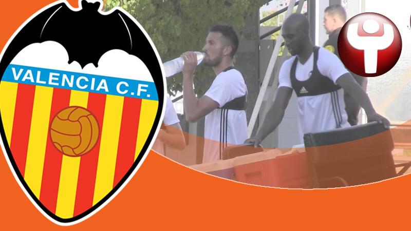 Eliaquim Mangala Ezequiel Garay Valencia CF