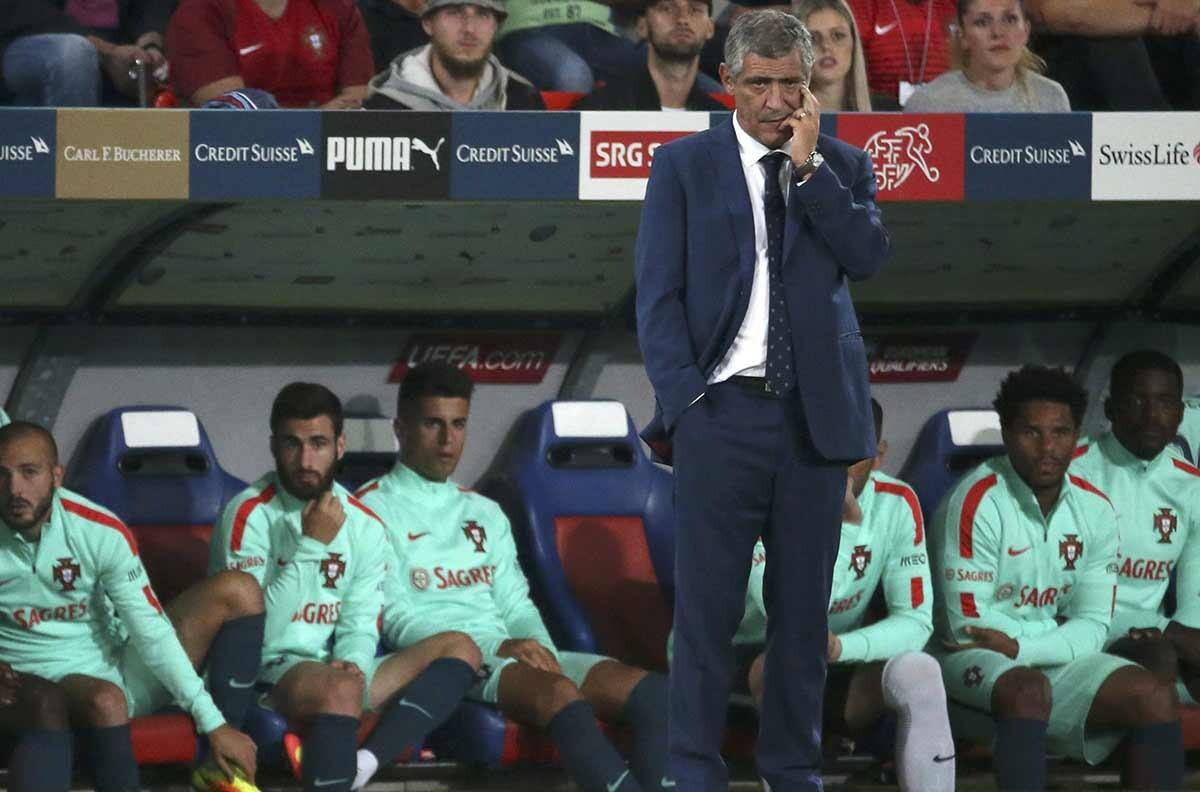 Fernando Santos, seleccionador de Portugal
