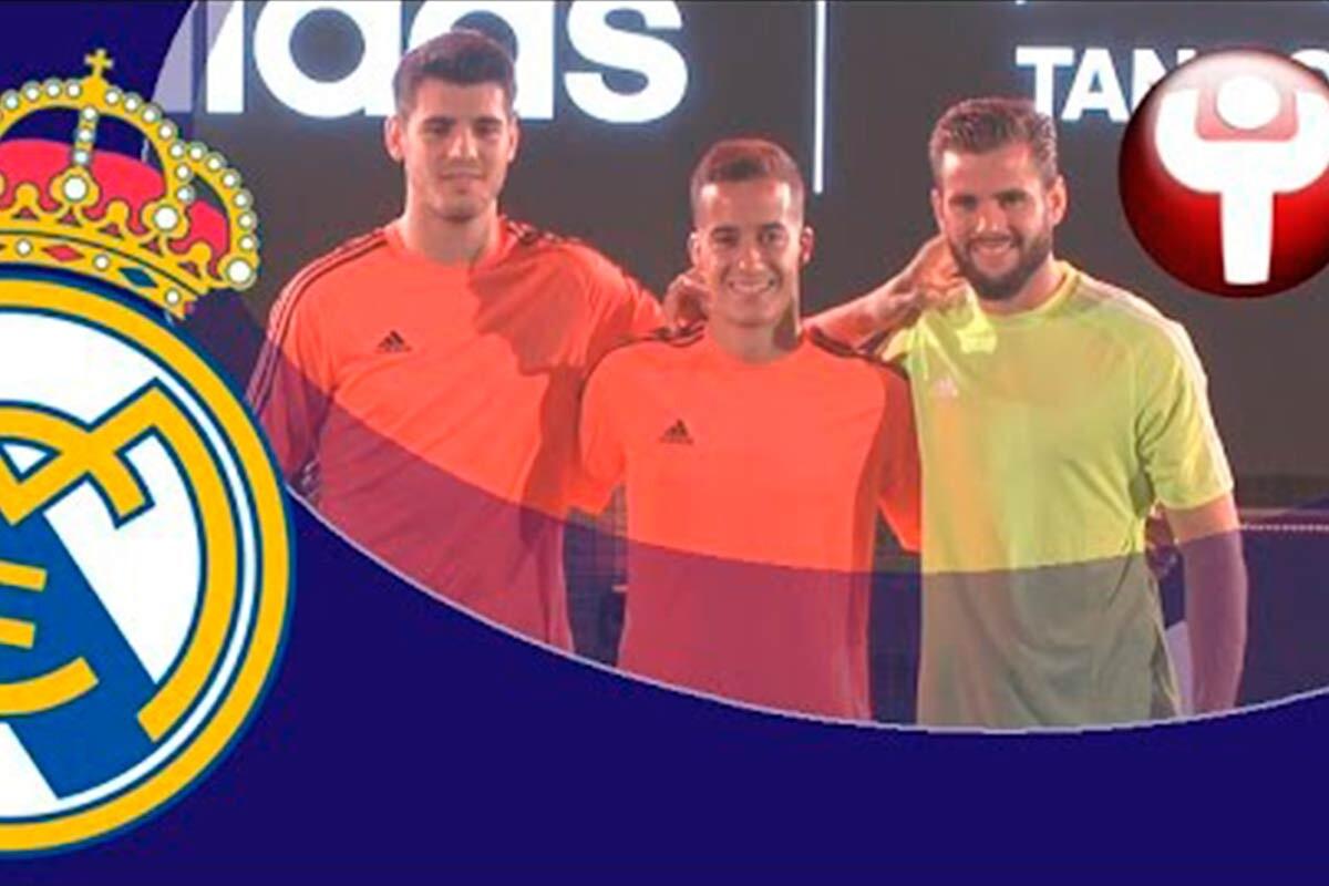 Álvaro Morata, Lucas Vázquez y Nacho Fernández
