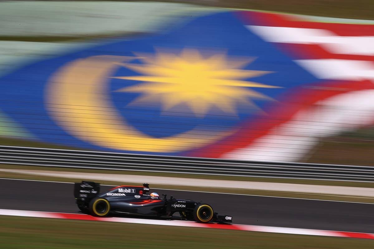 Fernando Alonso en el GP de Malasia