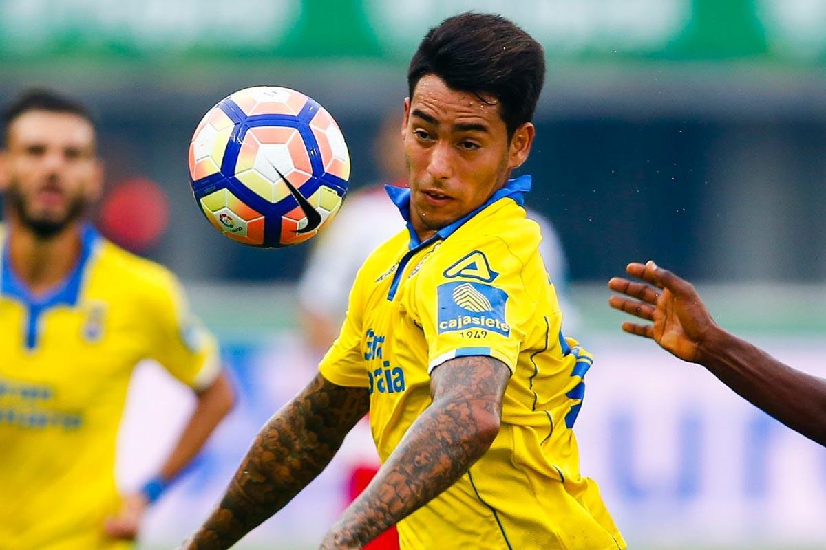 Sergio Araujo, delantero de la UD Las Palmas