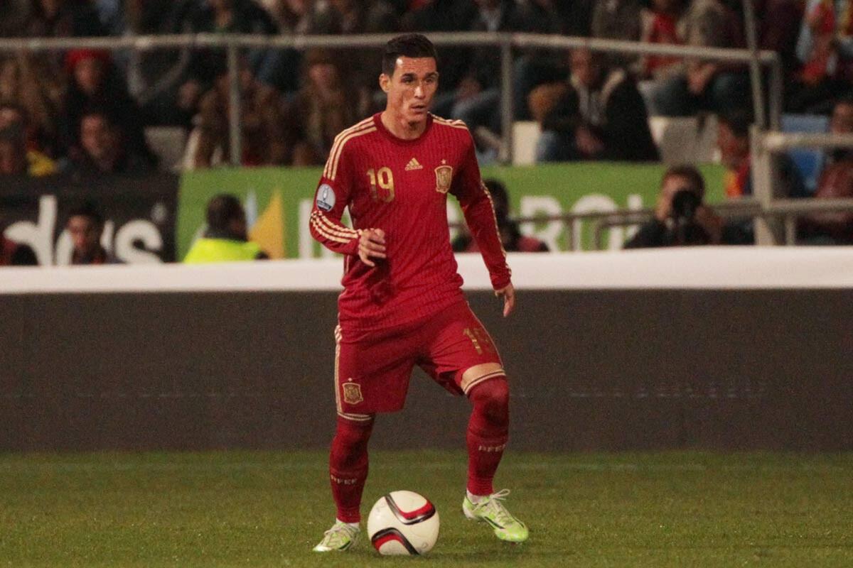 José Callejón, con la Selección