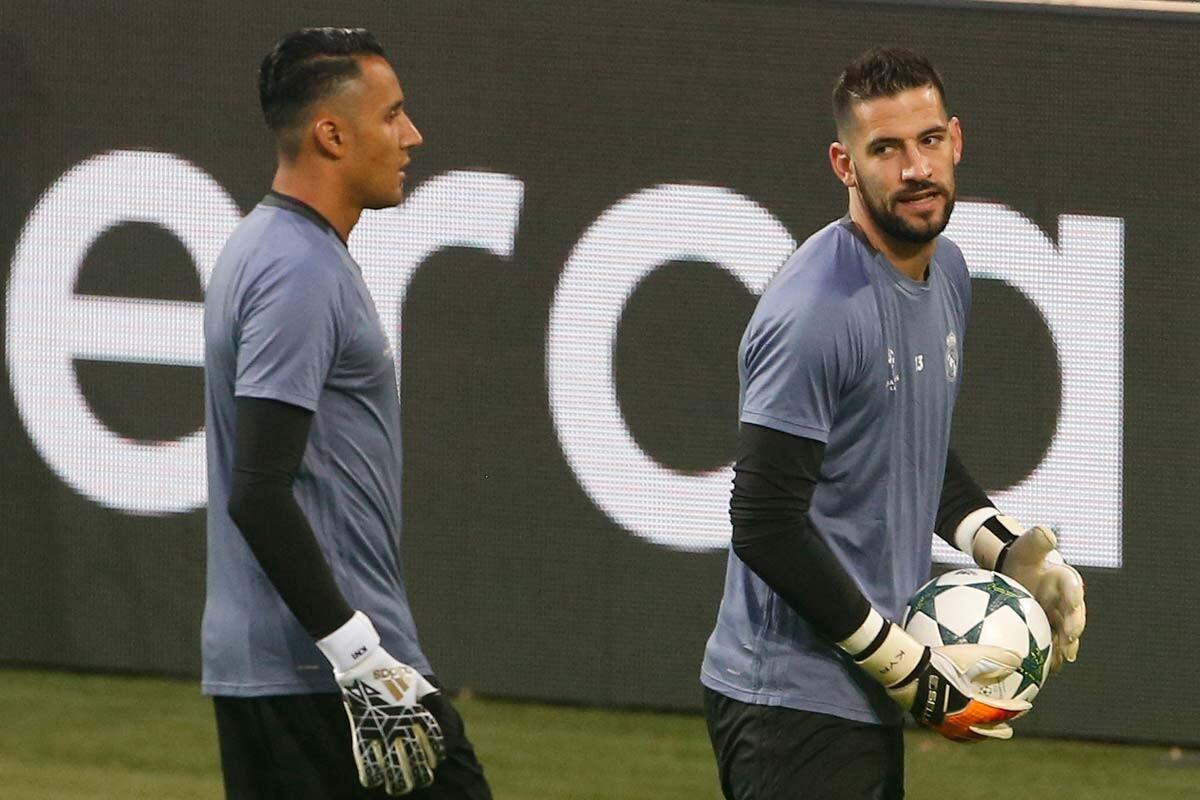Casilla y Keylor Navas, porteros del Real Madrid