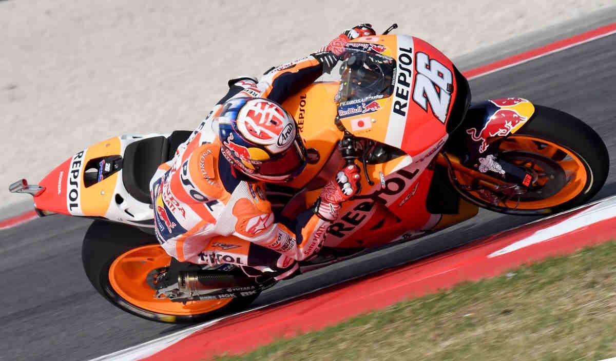 Pedrosa para los pies a Márquez en el FP2 de MotoGP