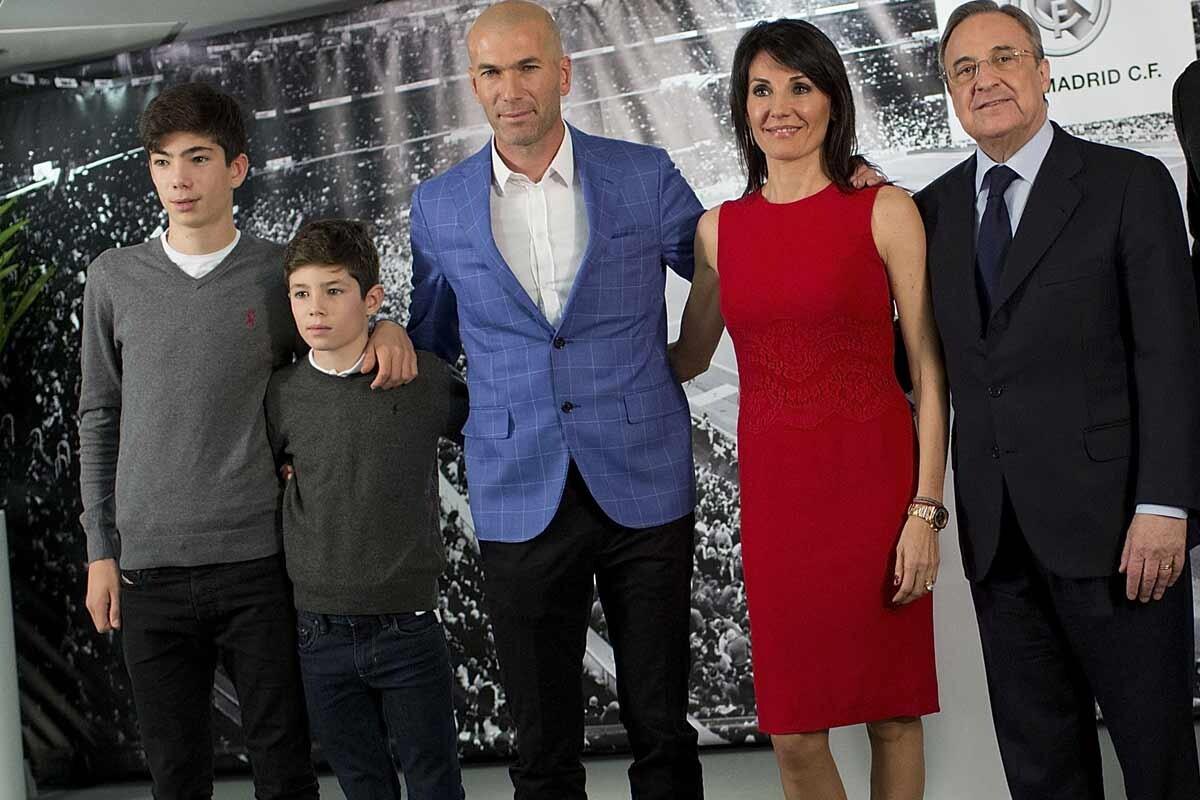 Familia Zidane