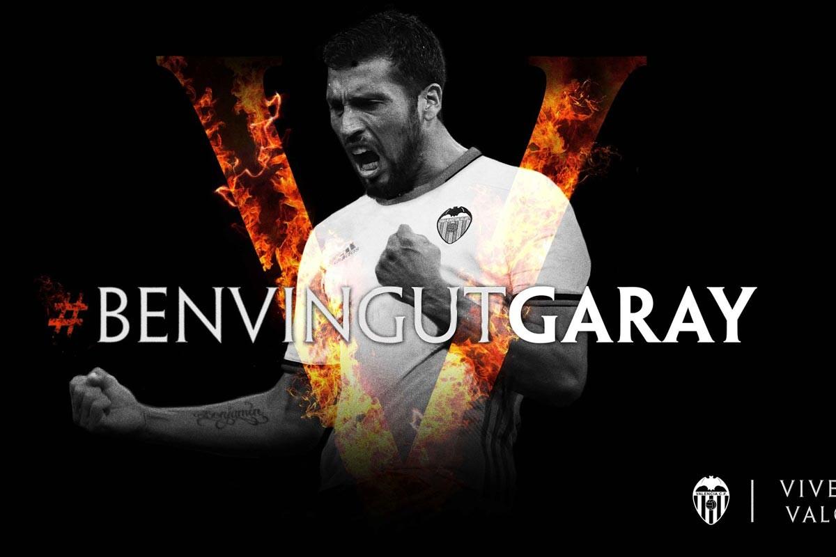 Ezequiel Garay, jugador del Valencia