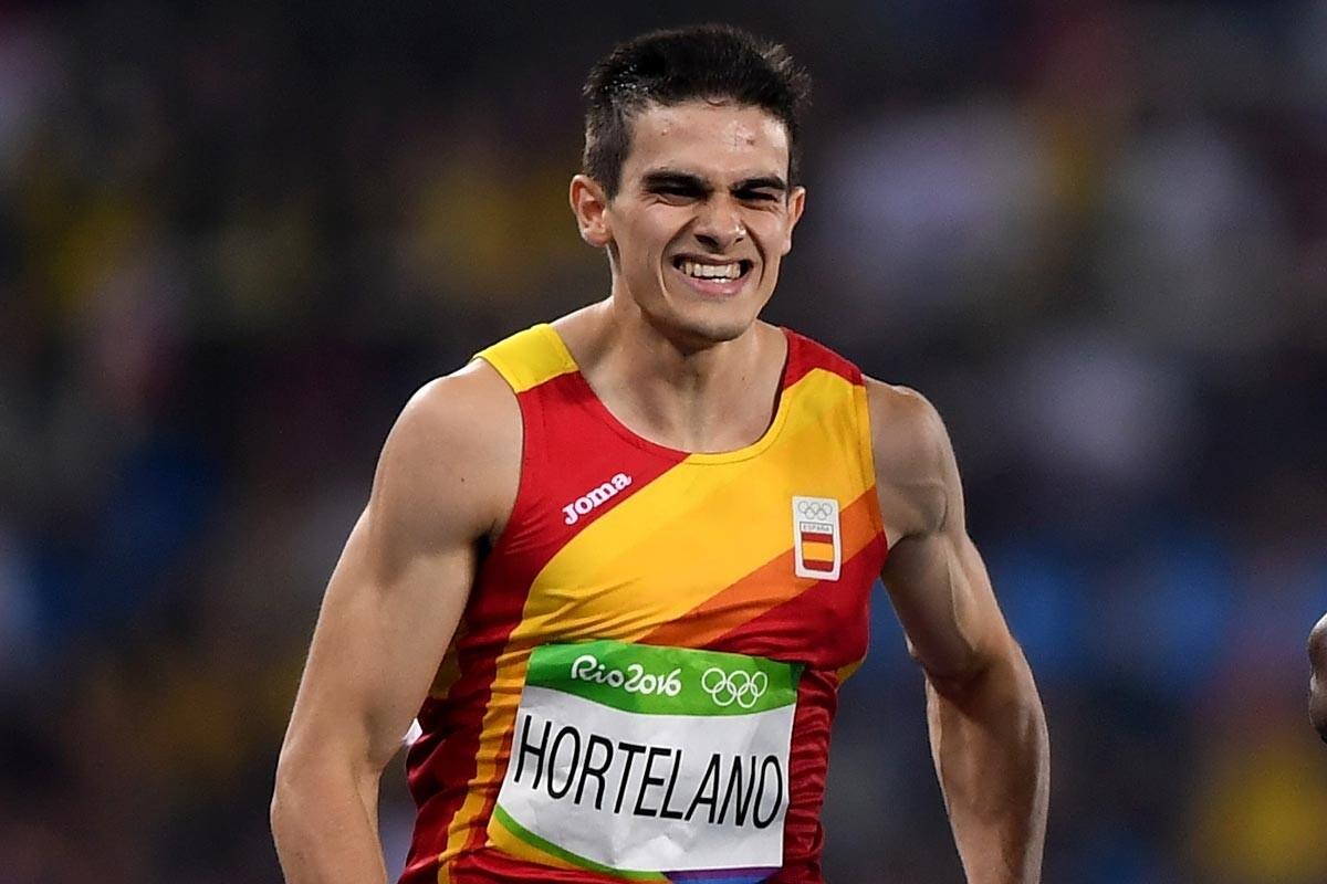 Bruno Hortelano durante los Juegos Olímpicos